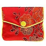ZJL220 - Bolsas de almacenamiento de joyas de seda tradicional china