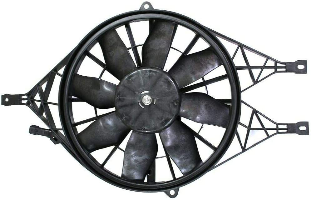 Radiator Cooling Fan Assembly Popular brand Compatible Ranking TOP7 with 00-04 Replacement
