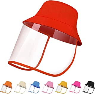 Protective Fisherman Hat Cap with Cover, Dustproof Detachable Bucket Hat, Fishing Sun Hat for Women & Men Outdoor Travel