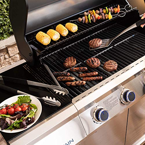 Fire Mountain Premier Plus 4 Burner Gas Barbecue - Premium Stainless Steel