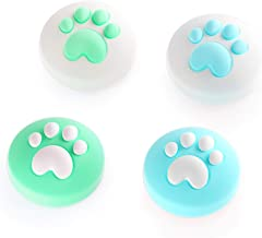 LeyuSmart CatClaw Cute Thumb Grips For Nintendo Switch, Joystick Caps for Switch&Switch Lite Thumbstick, Silicone Cover (A...
