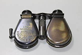 Royal Victorian Export Kelvin & Hughes London 1917 Brass Opera Glasses Pocket Folding Binocular m