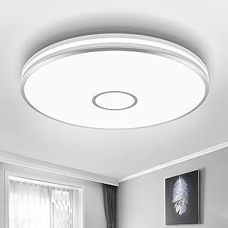 LED Ceiling Light Fixture, Airand 15 Inch Flush Mount Ceiling Light, 40W 3800LM Modern Ceiling Lamp for Bedroom Kitchen Li...