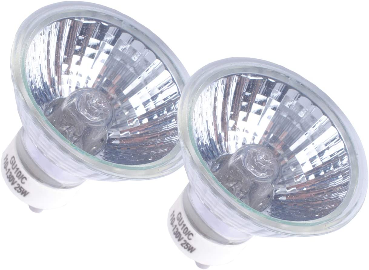 NP5 Classic Bulb Replacement GU10 Base Luxury Lamp 120V 25W Halogen