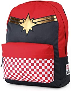 8d0660e51a Vans CAPTAIN MARVEL Backpack Racing Red Schoolbag VN0A3QXFIZQ Vans MARVEL  Bags