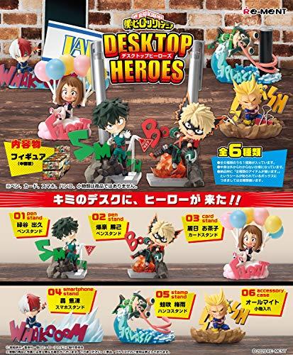 僕のヒーローアカデミア DESKTOP HEROES BOX商品