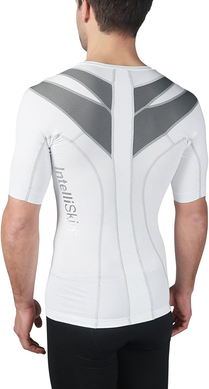 IntelliSkin Newest Men's Foundation Vtee  Posture Correcting + Performance