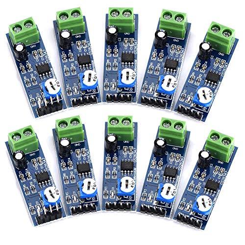 Kyrio 10pcs LM386 Audio Power Amplifier Module 200 Times Gain Amplifier Board Mono Power Amplifier for Arduino EK1236 HIFI DIY