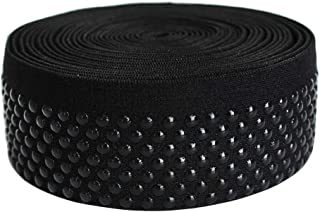 Dot Silicone Elastic Tape No Slip for Garment Accessory & Headband 5Yards per Roll (38mm(FBA))