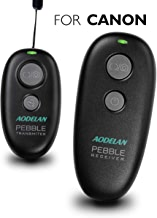 Camera Remote Wireless Shutter Release for Canon EOS RP, Rebel T6, T7, SL2, 5D Mark II, 6D Mark II, 7D Series, 5D Series; for Fujifilm X-T3; for Olympus OM-D E-M1 Mark II; for Pentax K-1 Mark II