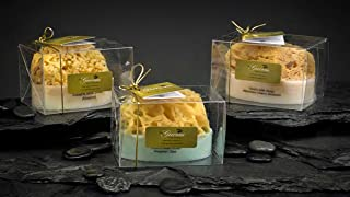 Goat's Milk & Olive Oil Soap with an Embedded Natural Sea Sponge (Aegean Sea)
