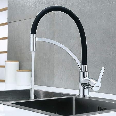Wasserhahn Küchenarmatur Küchenspüle Edelstahl Einbauspüle mit Seifenspender