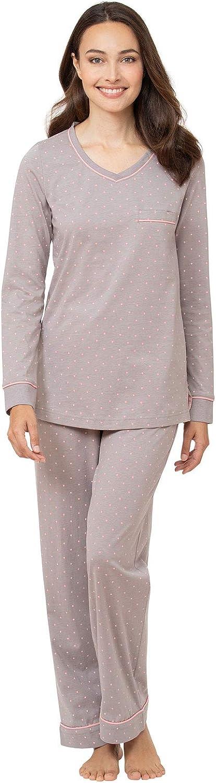 PajamaGram Many popular brands Cotton Pajamas for Cheap bargain Women Pullover Womens Sets PJ -