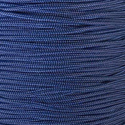 PARACORD PLANET 10, 25, 50, and 100 Foot Hanks of 425 Paracord (3mm) - Made of 100% Nylon for Tactical, Crafting, Survival, General Use, and Much More (Midnight Blue, 100 Feet)