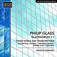 Philp Glass: Glassworlds, Vol. 1 by Nicolas Horvath