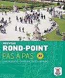 Nouveau Rond-Point pas à pas A1 - Libro del alumno + Cuaderno de ejercicios + CD: Noveau Rond Point Pas à Pas A1  Livre de l´éleve+ Cahier d'exercises + CD (Fle- Texto Frances)