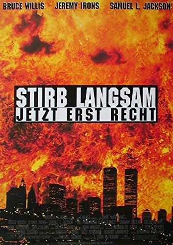 Preisvergleich Produktbild Stirb langsam - Jetzt erst recht (1995) / original Filmplakat,  Poster [Din A0,  84 x 118 cm]