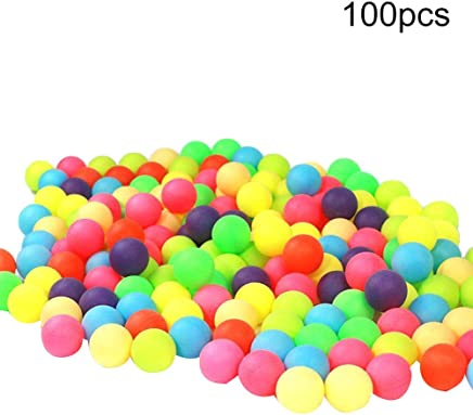 LINSUNG Colorful Table Tennis Seamless Table Tennis Lottery Balls