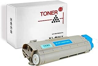 PRINT-RITE 43324468 C6000 C6050 Okidata C 6000 Cyan Toner Cartridge 4000 Page Yield 1 Pack Compatible for Okidata C6000/C6050 Printer