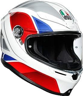 AGV Helm K6 ECE MULTI MPLK HYPHEN WHITE/RED/BLUE MS