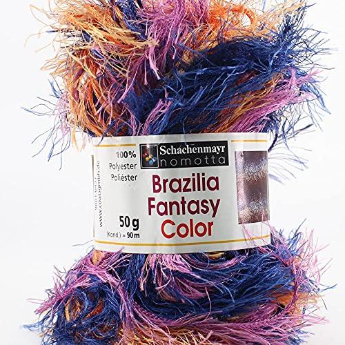 Hilos Schachenmayr Brazilia Fantasy Ovillo de Color Coral Cod.391