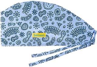 قبعات العمل DOKTORAM مع العصابة القابلة للتعديل غطاء الرأس - للنساء أو الرجال كاب جمجمة للجنسين على شكل القرع