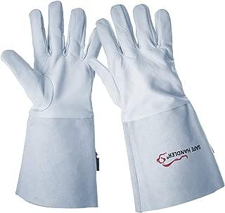 SAFE HANDLER TIG Welding Gloves   Heat Resistant for Oven, Grill, Fireplace, Stove, TIG MIG Welder, BBQ, 6