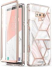 i-Blason Funda Galaxy Note 9 [Cosmo] Brillante Carcasa Completa con Protector de Pantalla - Mármol