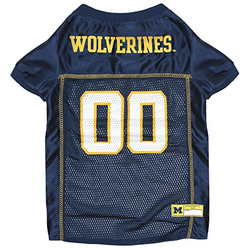 NCAA MICHIGAN WOLVERINES DOG Jersey, Large