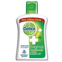 [Pantry] Dettol Original Germ Protection Handwash Liquid Soap Flip Top, 250ml