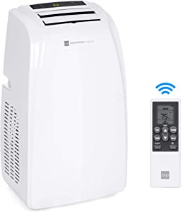 Best Choice Products 14,000 BTU Portable Air Conditioner Cooling Unit for Up to 650 Sq. Ft w/Remote Control, Window Kit