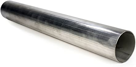 """2.5/"""" OD 4 Feet T-304 Stainless Steel Straight Exhaust Piping Tubing Tube Pipe"""