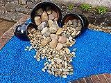 RockinColour Dekosteine für den Garten, Azurblau - 6