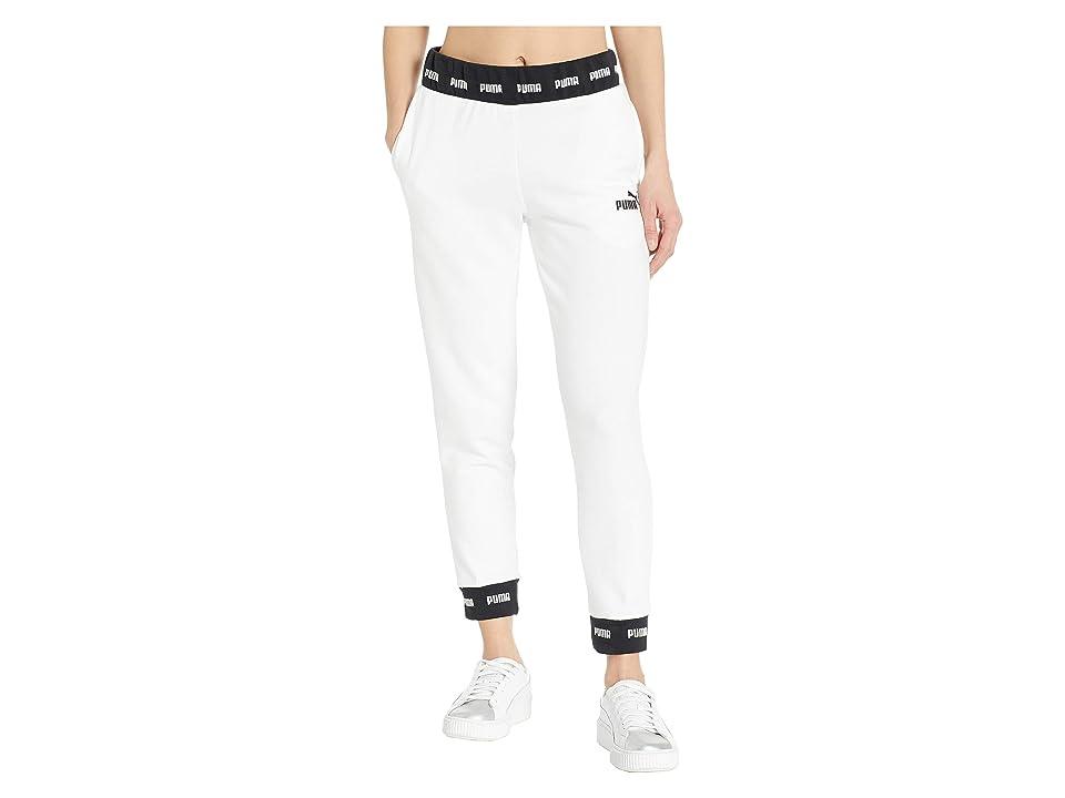PUMA Amplified Sweatpants (PUMA White) Women