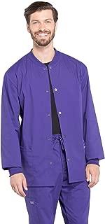 Workwear Professionals Men's Warm-Up Scrub Jacket