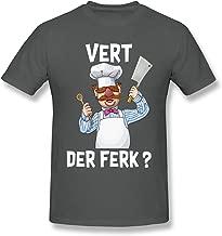 Pekivide Mens Vert Der Ferk Trend Deep Heather T-Shirt
