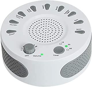 Máquina de Ruido Blanco para Insomnio Sueño Mejora Calidad Sueño Bebé Que Llora Medidor de Confort para Dormir con 9 Sonid...