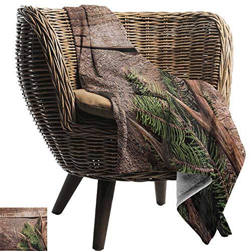 ZSUO huisdier deken gewei decor, herten gewei op hout tafel rustieke textuur oppervlak jacht seizoen decoreren Cozy hypoallergeen gemakkelijk te dragen deken
