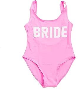 Bridesmaids World Bride Bachelorette Party One Piece Swimsuit