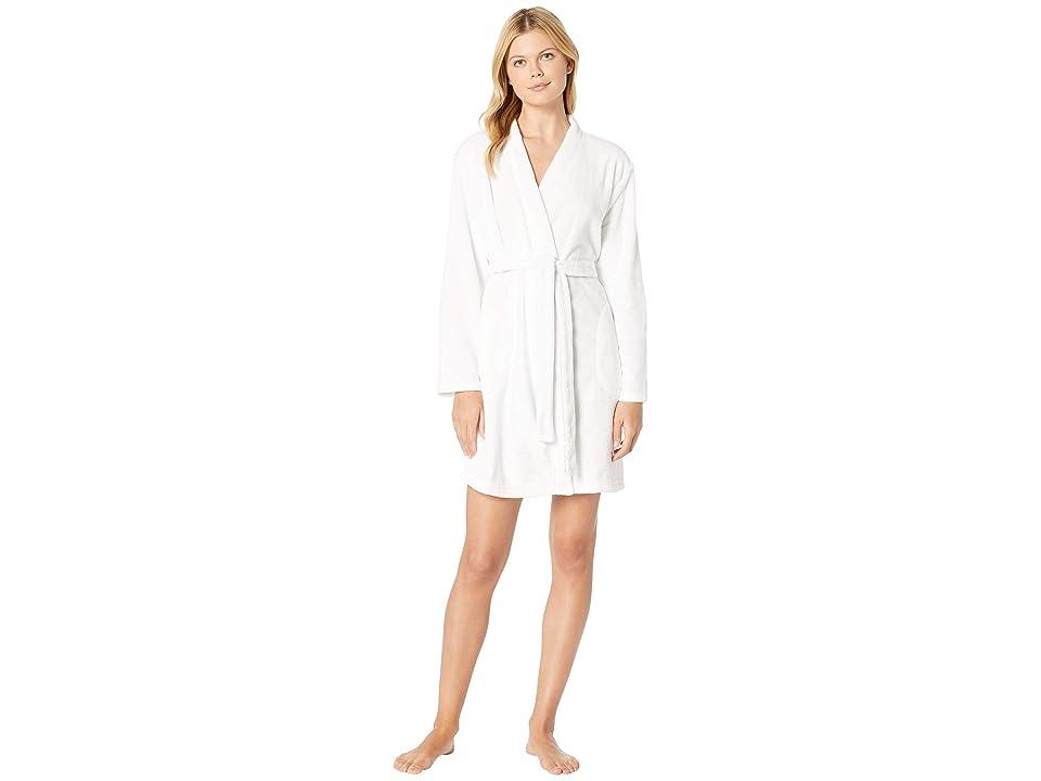 Nautica Anchor Applique Robe (White) Women