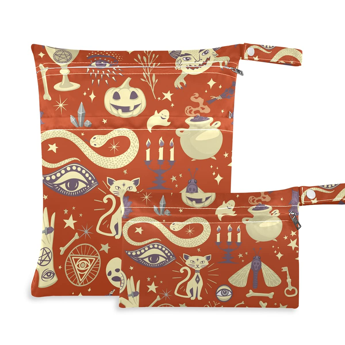 Halloween Pumpkins Ghost Wet Dry Diaper Challenge the Sale lowest price of Japan ☆ Bag Reusable for