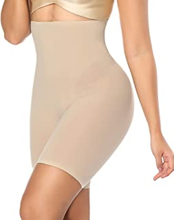 2ba91ff7441717 DotVol Women s Body Shaper High Waist Cincher Trainer Seamless Slimming Waist  Tummy Control Panty Brief