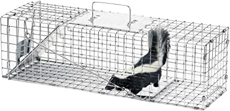 Havahart Medium Professional Style One-Door Animal Trap for Rabbit, Skunk, Mink, and Squirrel - 1078 (Pack of 2)