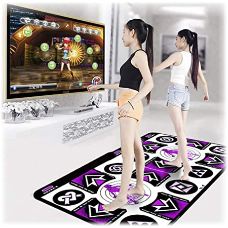 Single user Dance Mat Dance Mat for Kids and Adults for Home,Non-Slip Dancers Step Pads Sense Game English for PC TV