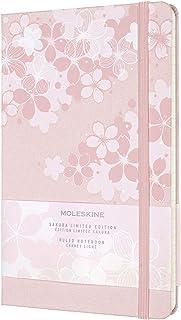 モレスキン ノート 2020年 限定版 さくら ノートブック ハードカバー ラージサイズ 横罫 ピンク LESU03QP060