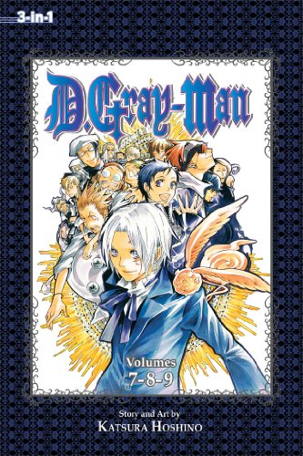 D.Gray-Man (3-In-1 Edition), Volume 3: Includes vols. 7, 8 & 9