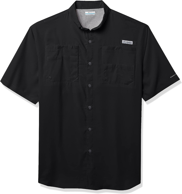Columbia Men's PFG Tamiami II UPF 40 Short Sleeve Fishing Shirt