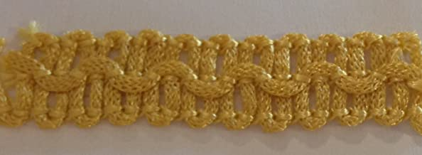Small Upholstery Braid GOLD 10mm
