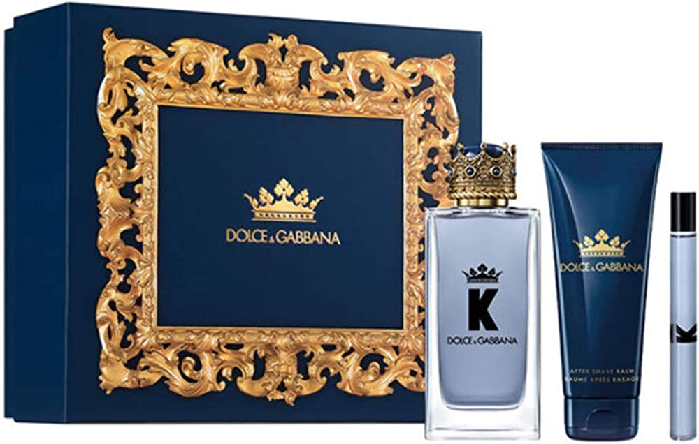 Dolce and gabbana k eau de toilette spray 100ml set 3 pieces 2020 3423478970656