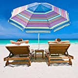 Best Beach Umbrella 8fts - Abba Patio 7 Feet Beach Umbrella with S Review